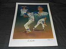 Don Drysdale Hand Signed Ltd Ed Lithograph