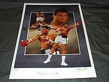 Muhammad Ali Hand Signed Ltd Ed Lithograph