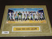 Ron Lewis 500 HR Multi Signed Mini Litho