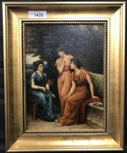 Louis L Betts (1873 - 1961) Oil on Board.