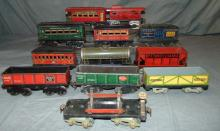 12pc Assorted American Flyer Rolling Stock