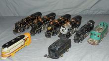 American Flyer Locomotive Parts Lot
