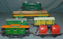 Scarce French Hornby Freight Set