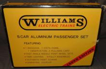 Williams 2802 PRR Passenger Cars