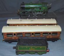 Bing For Basset-Lowke LNER Train Set