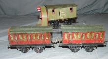 3 Prewar Hornby Pieces