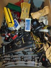 Large American Flyer Parts Lot