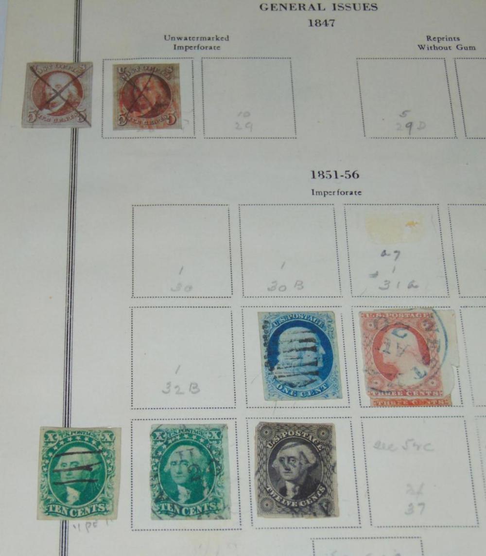 U.S. Estate Stamp Lot. Estate Collection.
