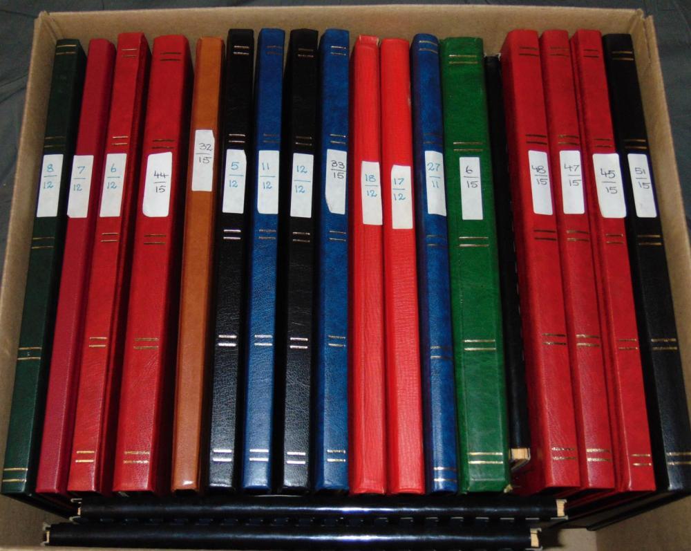 World Wide Collection. (20) Stockbooks.