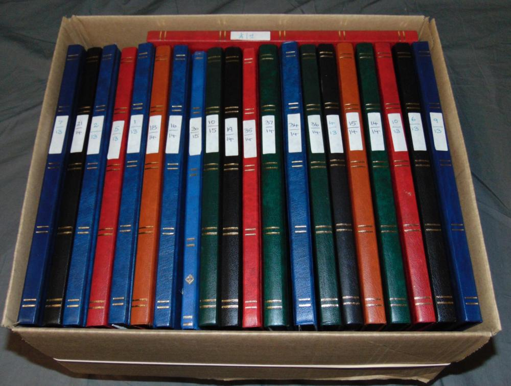 World Wide Collection in (21)  Stock Books.
