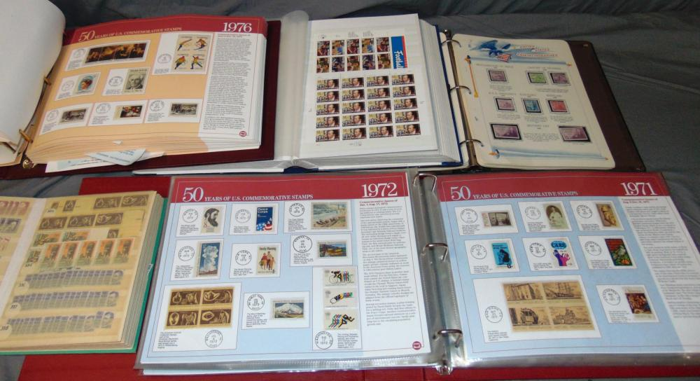 U.S. Mint, Used and Covers.