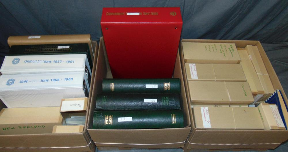 World Wide Collection in Three Cartons.