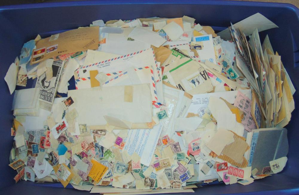"""Ultimate """"Mystery"""" Stamp and Cover Lot."""