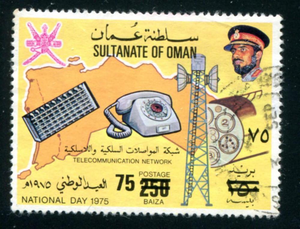 Oman #190 C Used.