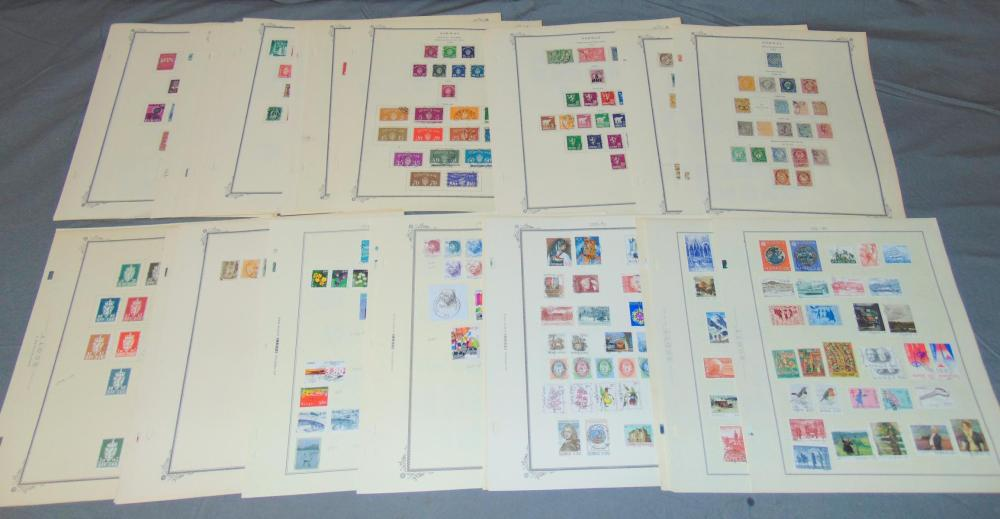 Norway Stamp Collection.