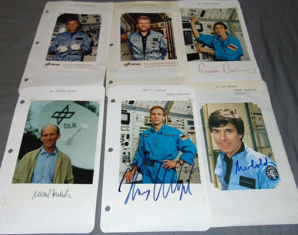 Signed Astronauts Covers