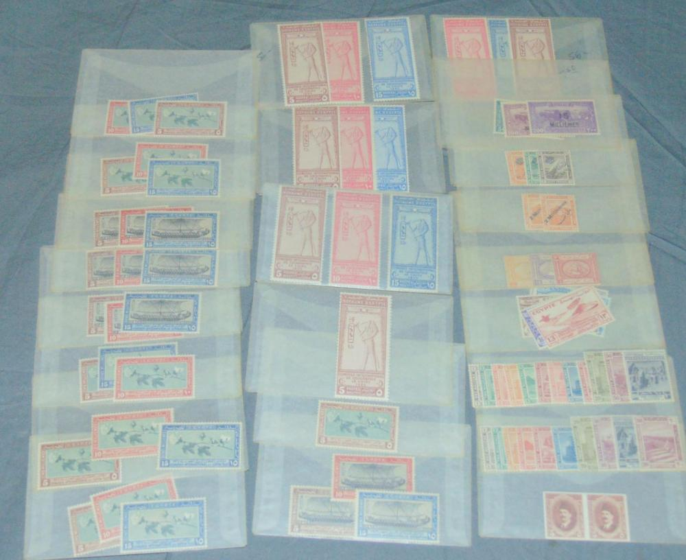 Egypt. Mint Sets and Singles.