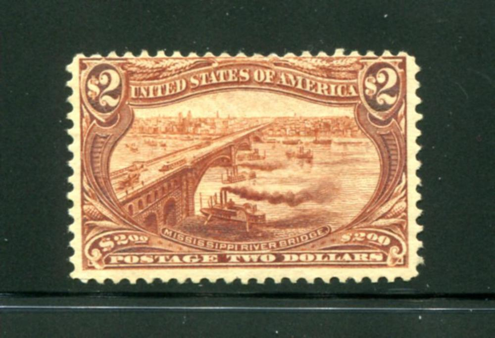 United States #293 Mint LH.