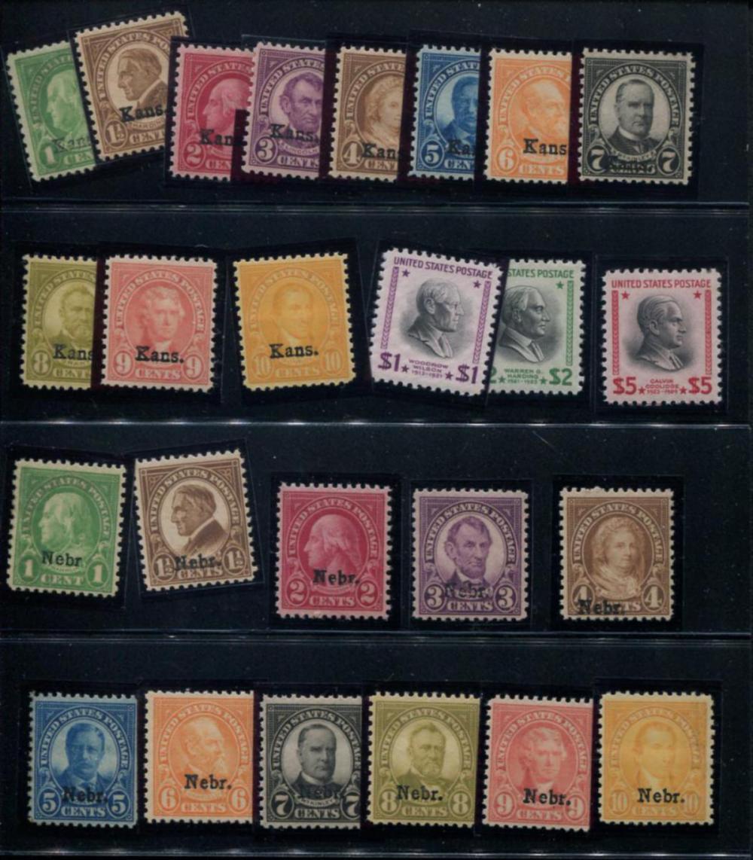 United States Mint Sets.