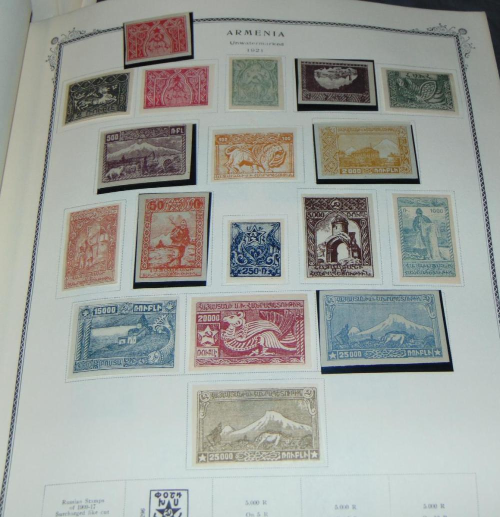 Russia Collection in Specialty Album.