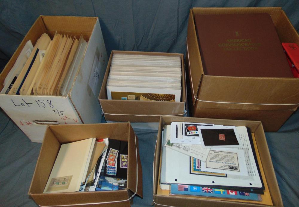 Estate Stamp Lot.