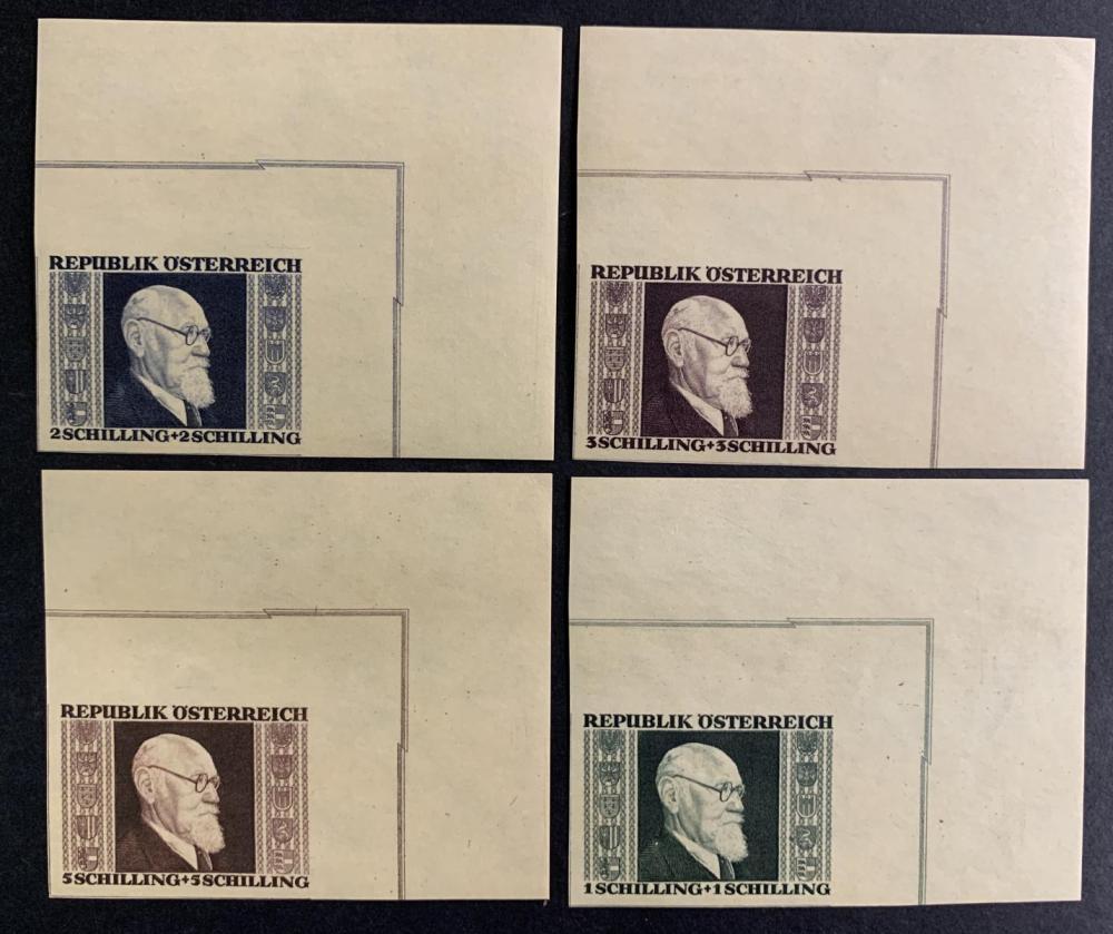 Austria B185a-B188a Mint.