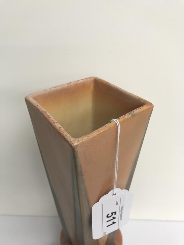 roseville pottery futura four ball vase. Black Bedroom Furniture Sets. Home Design Ideas