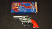 Kenton Gene Autry Cap Gun Boxed.