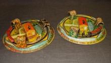 Lot of Two Honeymoon Express Tin Toys