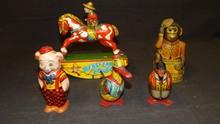 Lot of Vintage Tin Toys