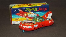 Japanese Cragston Flying Jeep Boxed.