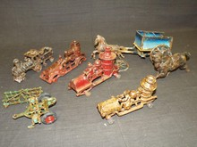 Assorted Cast Iron Toy Lot