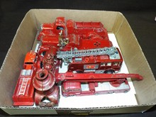 Assorted Toy Fire Engine Vehicle Lot