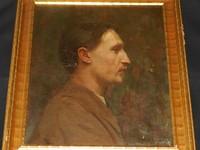 Harold Knight (1874 - 1961) Oil on Canvas.