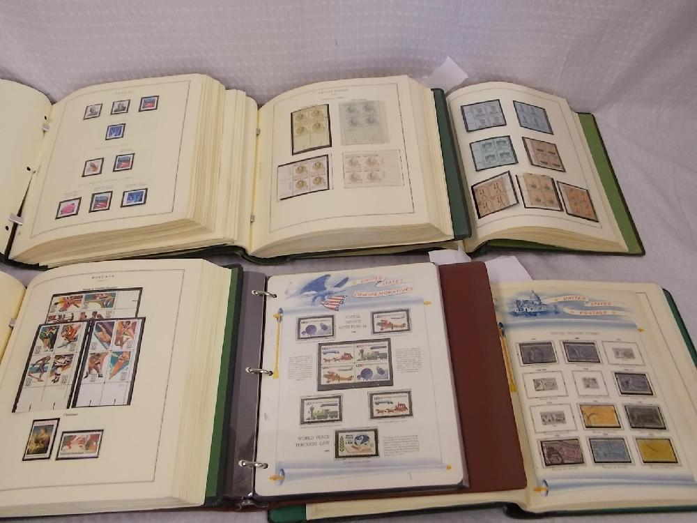 US Mint Stamp Collection.