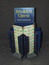 Brookfield Cheese Tin Counter Display