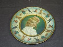 1907 Vienna Style, Union Pacific Tea Art Plate