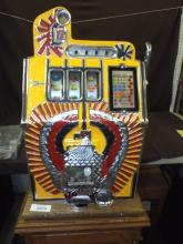 Mills 25 Cent War Eagle Slot Machine