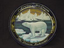 Arctic Ice Cream Litho on Tin Tray,