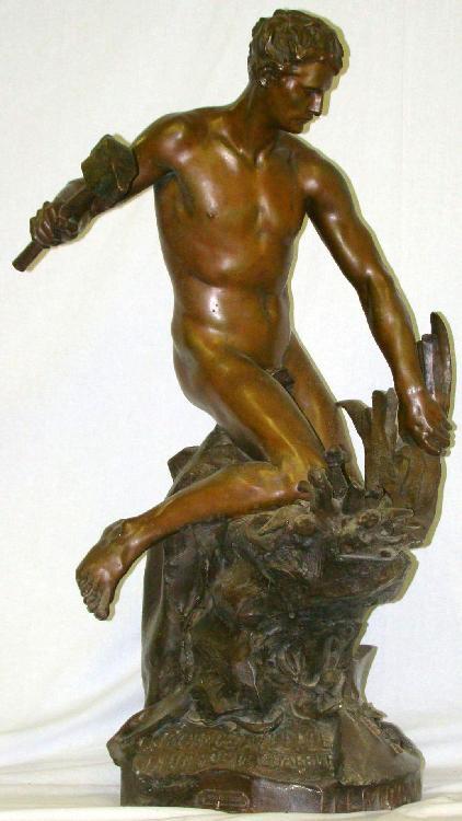 Jean Baptiste Belloc (1863 - 1919) Bronze