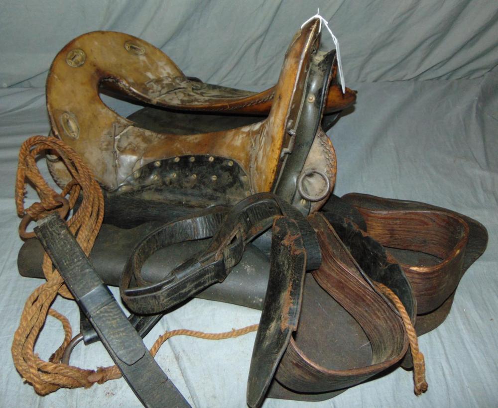 Civil War Era McClellan Saddle