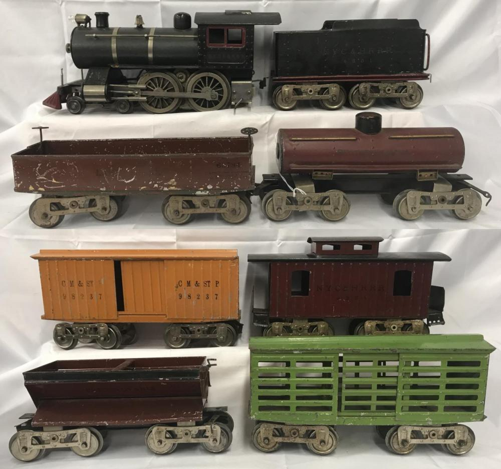 8Pc Lionel 6 Steam Freight Set