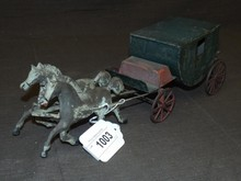 Early American Tin, Horse Drawn Carriage