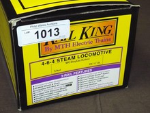 MTH NYC Dreyfuss Hudson Steam Loco #RK-1113L