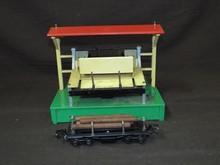 Lionel 164 Log Loader & 3651 Lumber Car