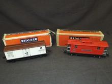 (2) Lionel Train Cars - 2814R & 2817 Caboose