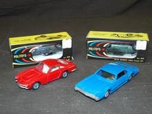 Vintage Die Cast Car Lot. Politoy.