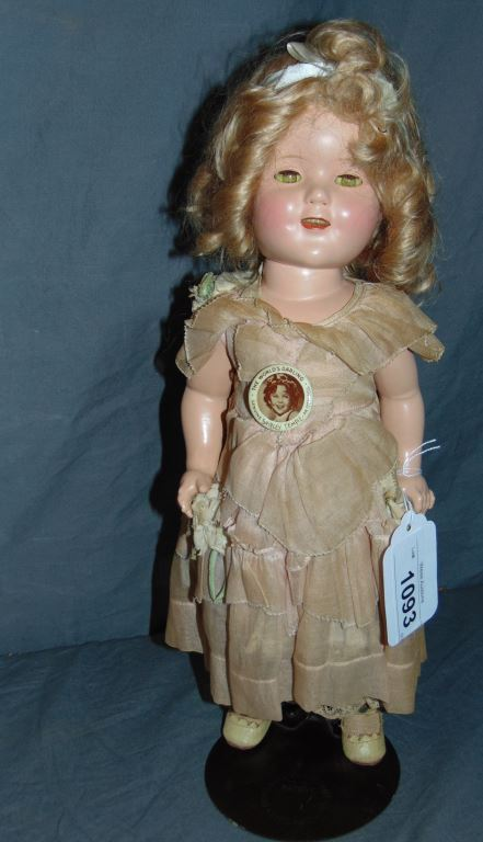 d62a59e00ca8 Ideal Composition Shirley Temple Doll w/Orig Box