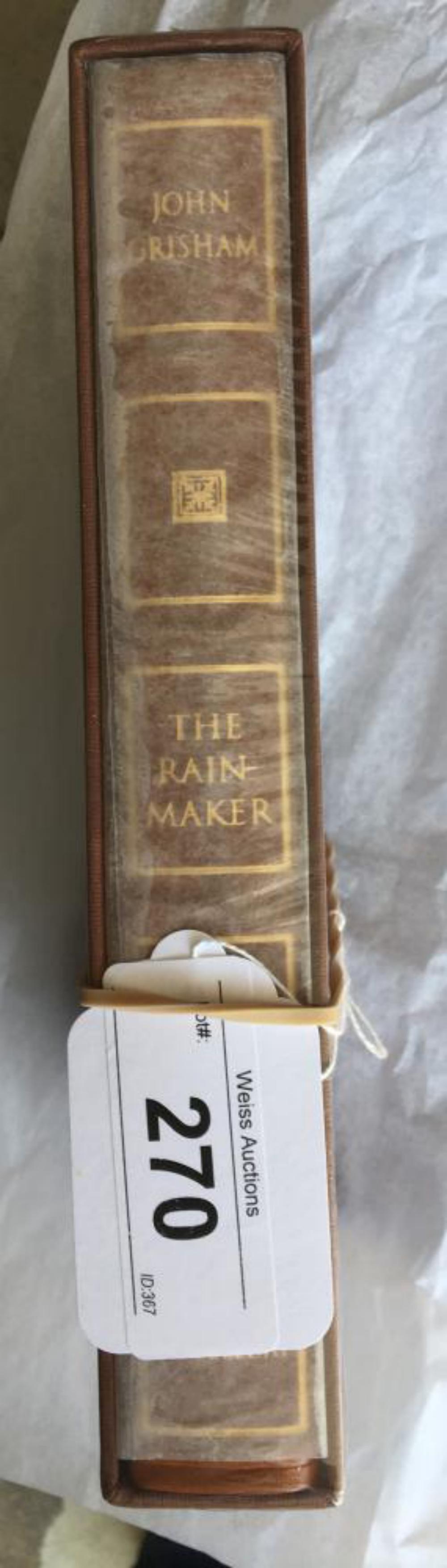 John Grisham. The Rainmaker Limited Edition.