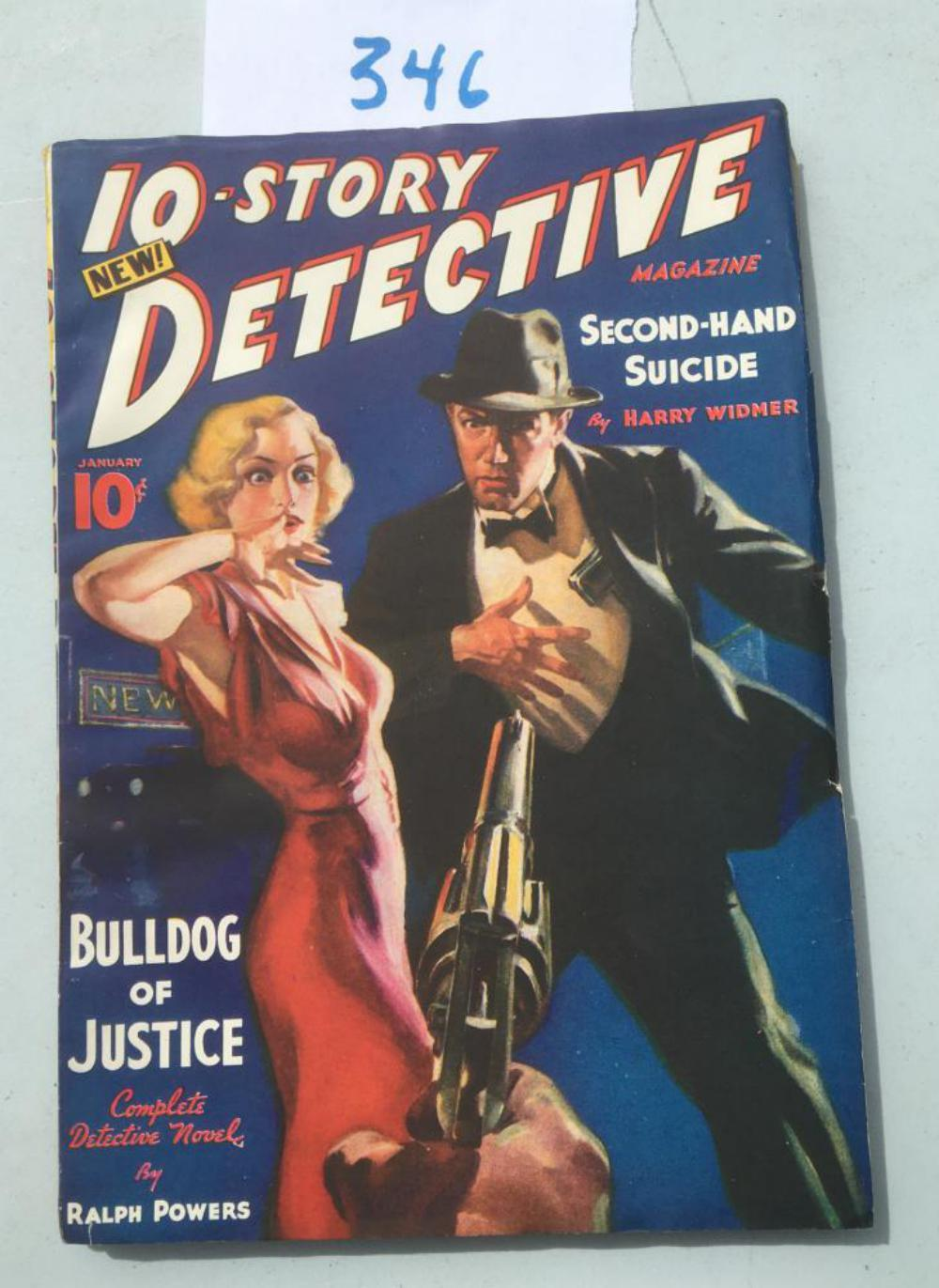 10-Story Detective Volume One. # 1.